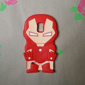 Iron Man 3D Samsung Galaxy Note 4 Cell Case Cover